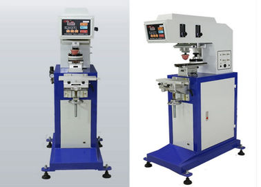 चीन Plastic Bottle Cap Automatic Single Pad Printing Equipment With Two Head आपूर्तिकर्ता