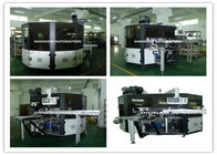 चीन PLC System Automatic Screen Printing Machine / Screen Printing On Bottles distributor
