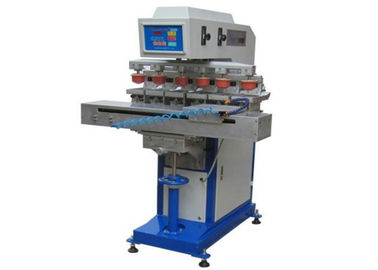 चीन 5 Bar Pad Print Machinery Gravure Plate Type Bill Automatic Pad Printer फैक्टरी