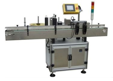चीन Sticker Electric Automatic Labeling Machine 580W For Small Round Oval Bottles फैक्टरी